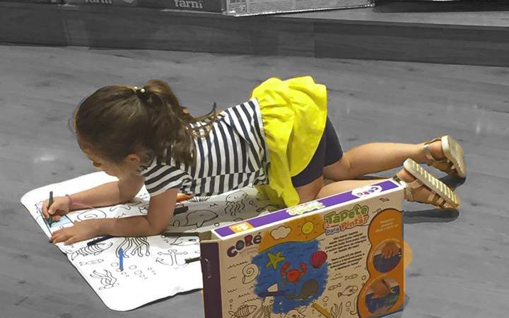 Espaço infantil de jogos Livraria Cultura