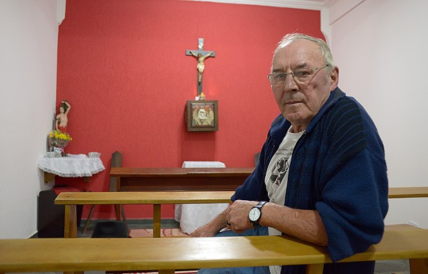 Padre Jaime Crowe: mais de 30 anos de luta pelo Jardim Ângela. Foto: Stefano Maccarini/Folhapress