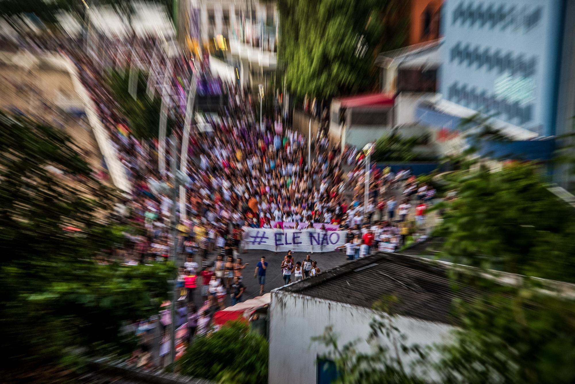 """Foto: Ato """"Ele Não"""" em Salvador/BA - Mídia Ninja/Flickr"""